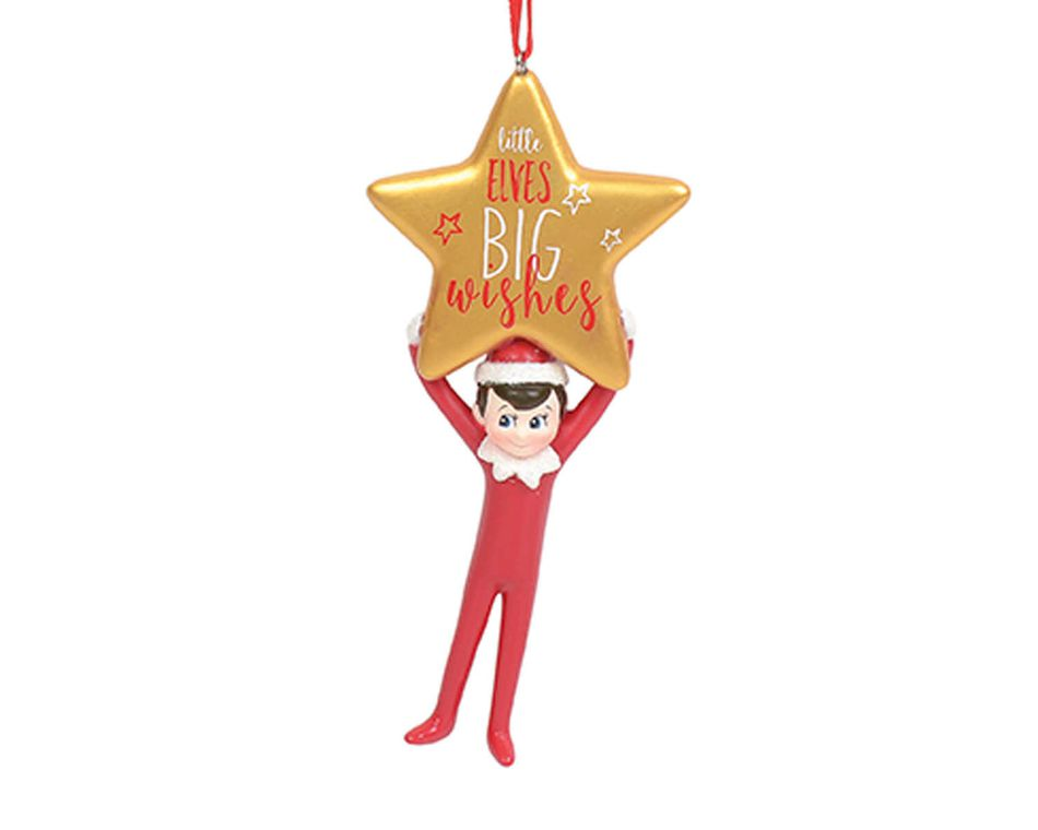 Elf on the Shelf® Little Elves Big Wishes Ornament