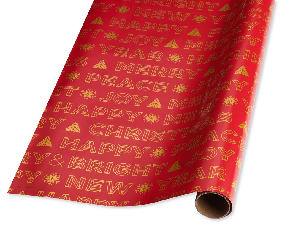 Modern Holiday Wrapping Paper
