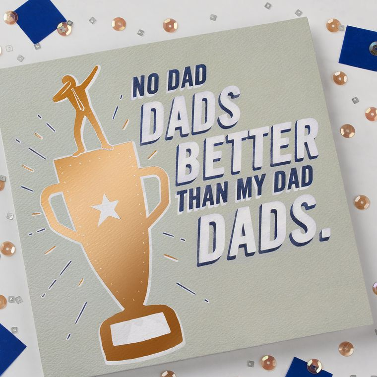 Trophy Father's Day Card