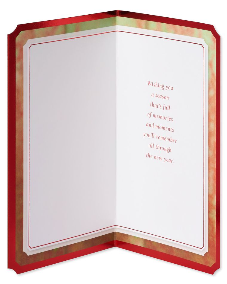 Special Holiday Greetings Christmas Card