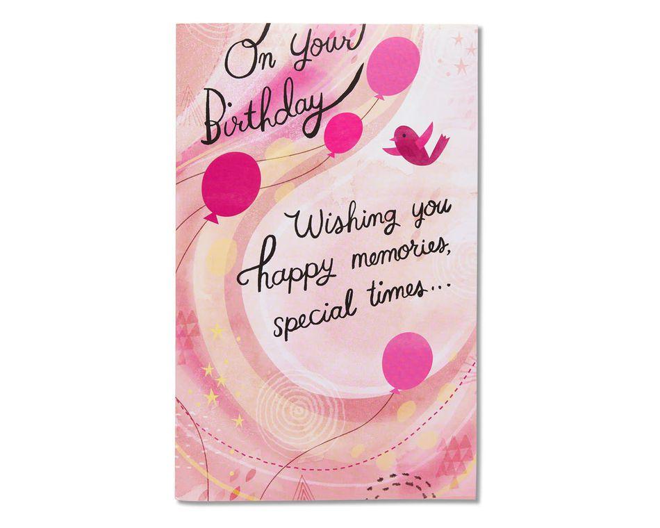 fun surprises birthday card