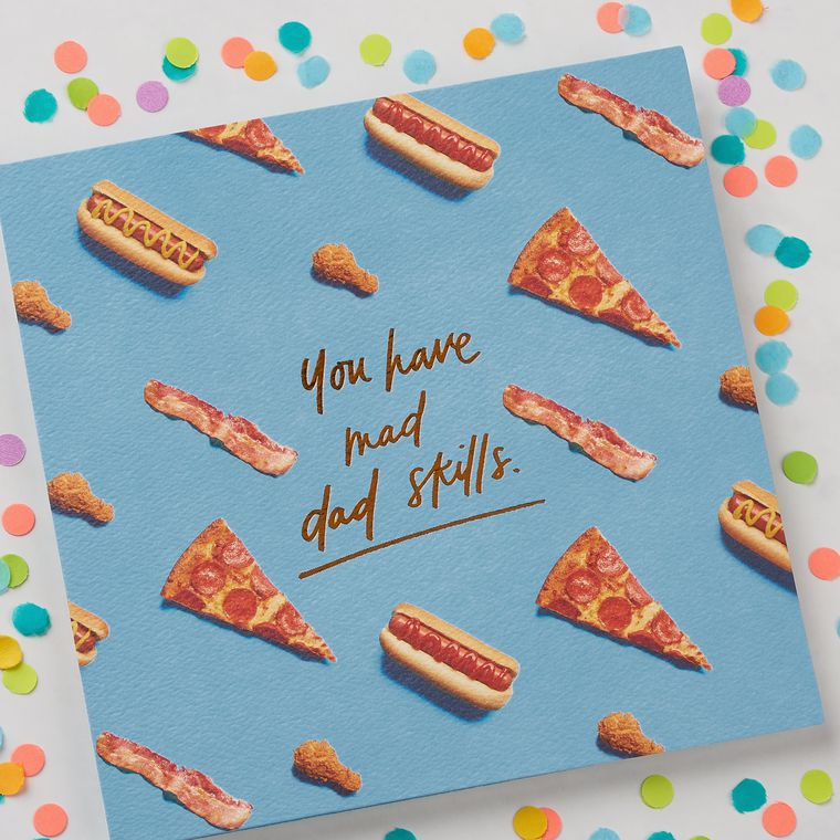 Dad Skills Father's Day Card