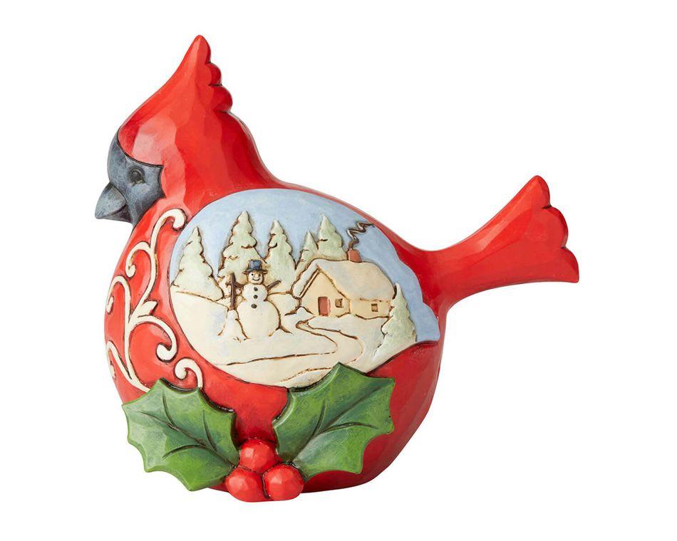 Jim Shore Cardinal Figurine