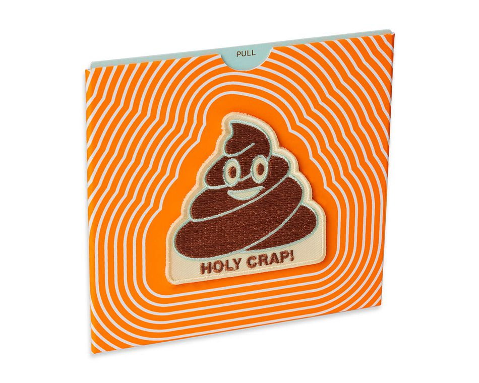 Holy Crap Gift Card Holder