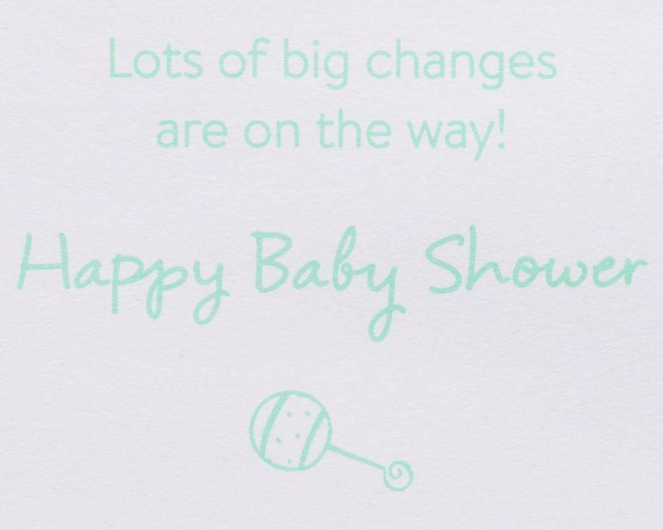Baby Checklist New Baby Greeting Card