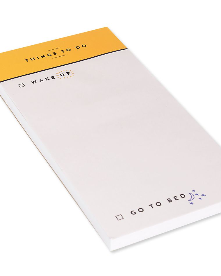 things to do notepad