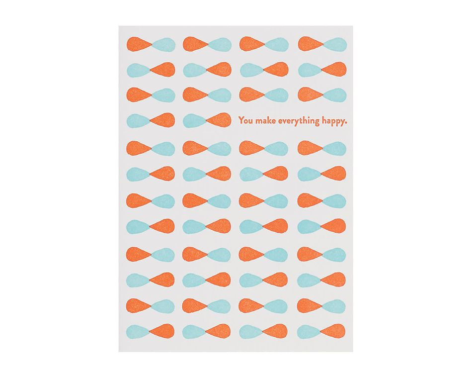 You Make Thinking Of You Card