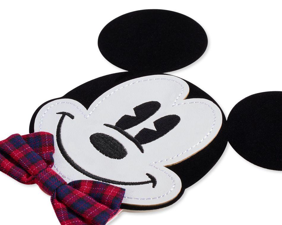 Mickey With Bowtie Birthday Greeting Card
