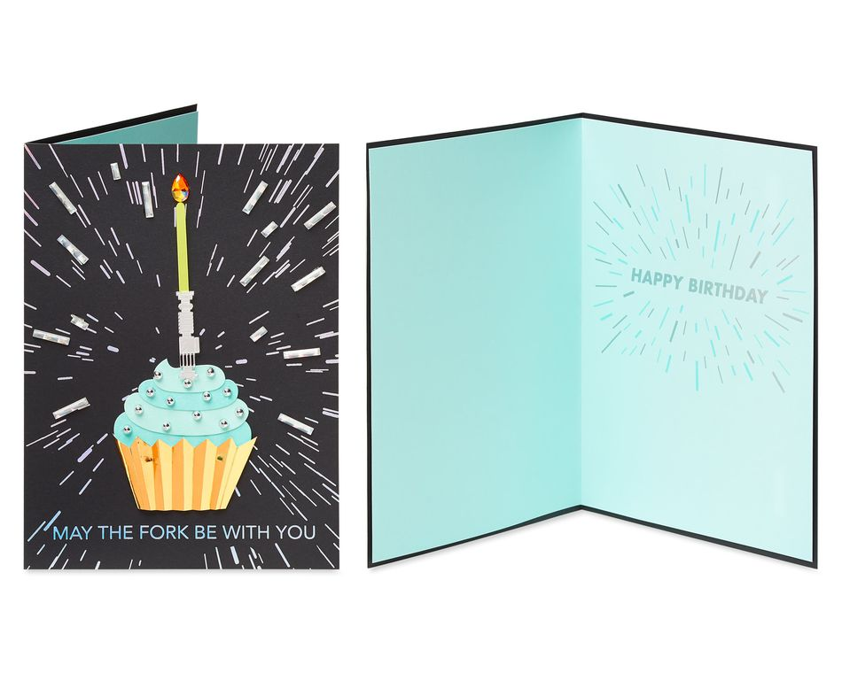 Star Wars Icons Birthday  Greeting Card Bundle, 3-Count