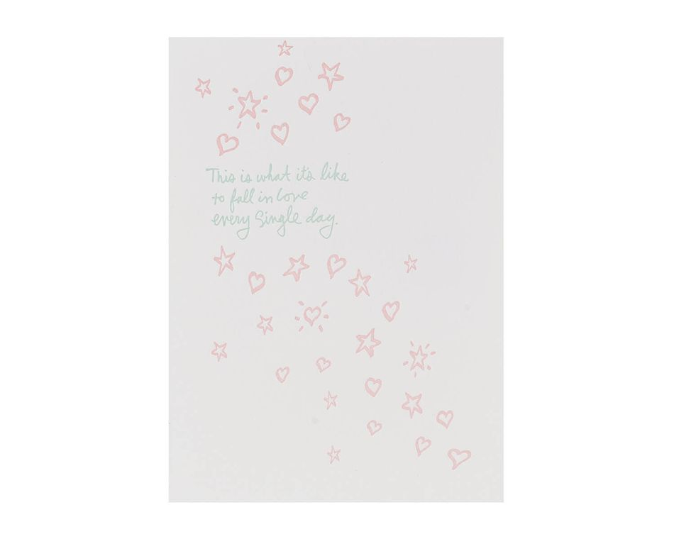 Fall In Love Baby Card