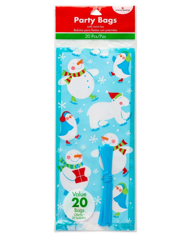 Polar Pals Treat Bags, 20-Count