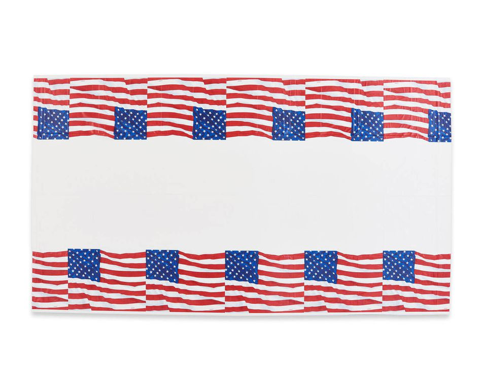 Flying Colors Plastic Table Cover