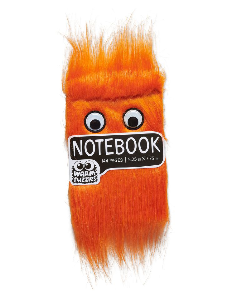 Warm Fuzzy Orange Notebook
