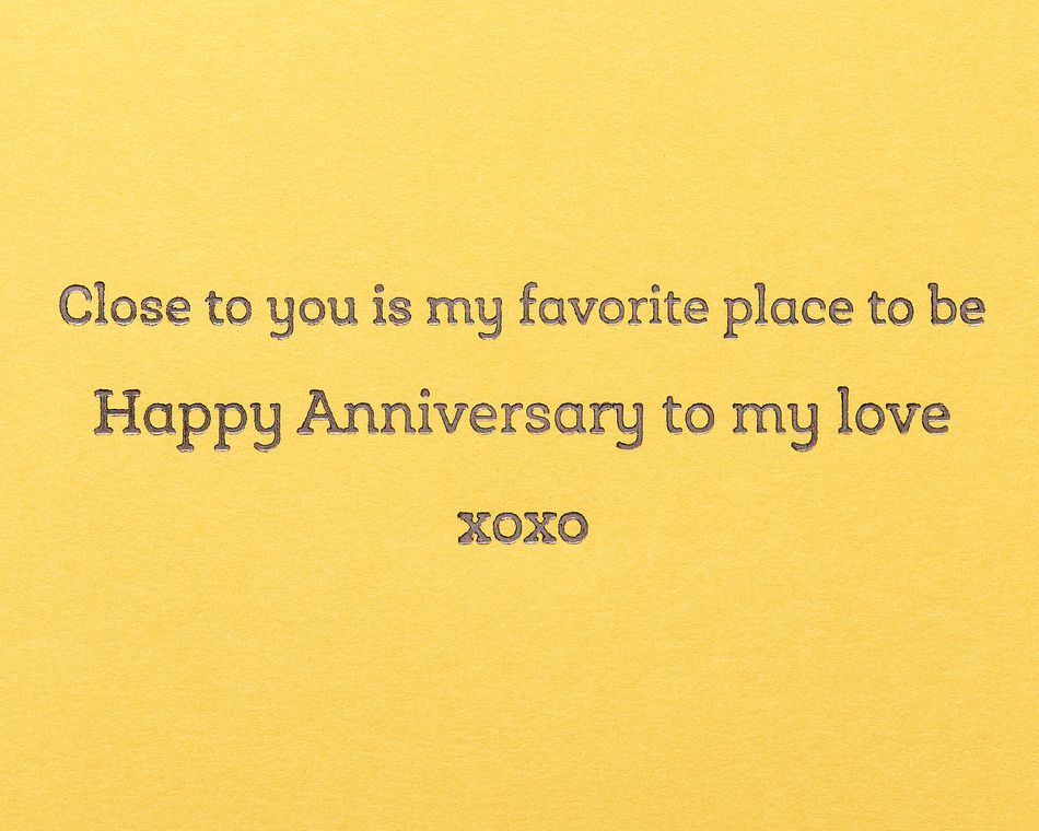 Side of the Bed Funny Anniversary Greeting Card