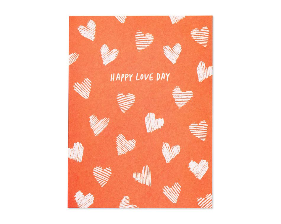 happy love day valentine's day card