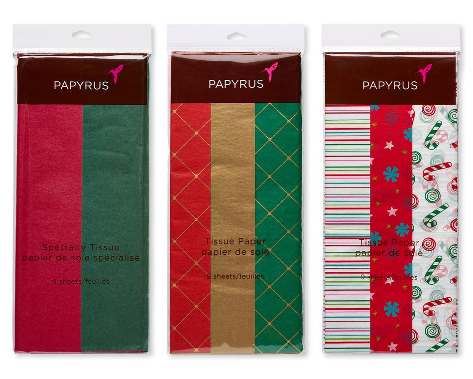 Holiday Tissue Paper Trio Bundle