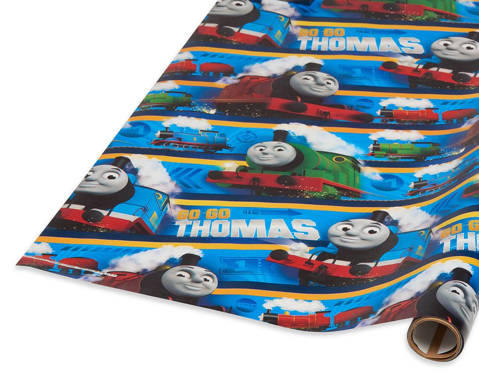 Thomas & Friends Wrapping Paper, 20 sq. ft.