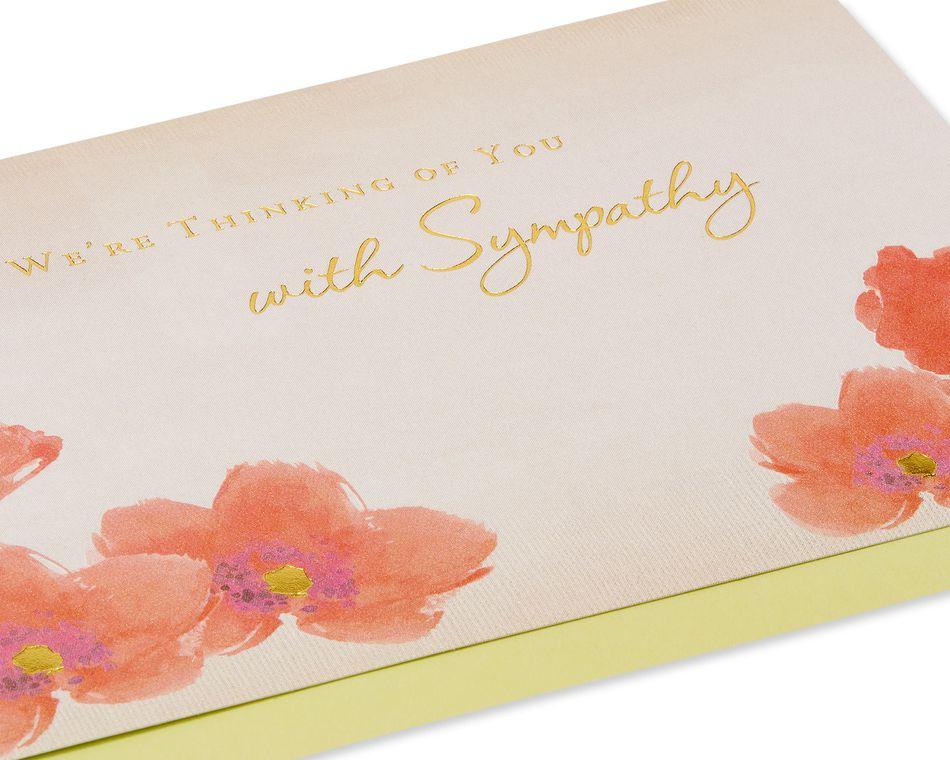 Our Deepest Sympathy Sympathy Card