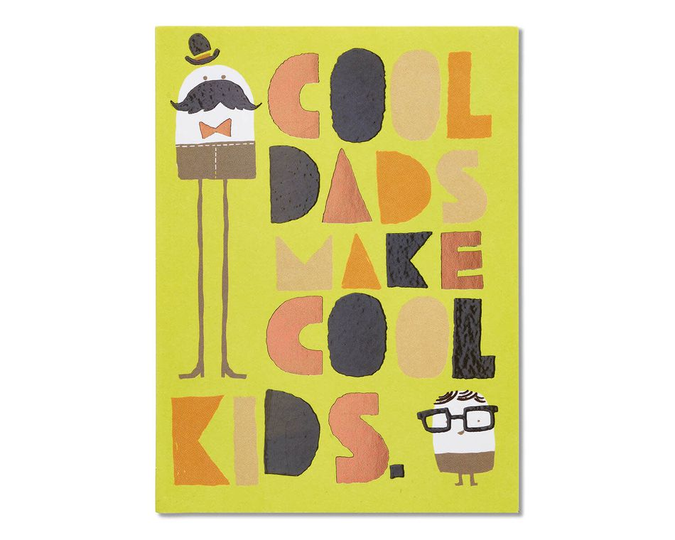 Cool Dads Father's Day Card