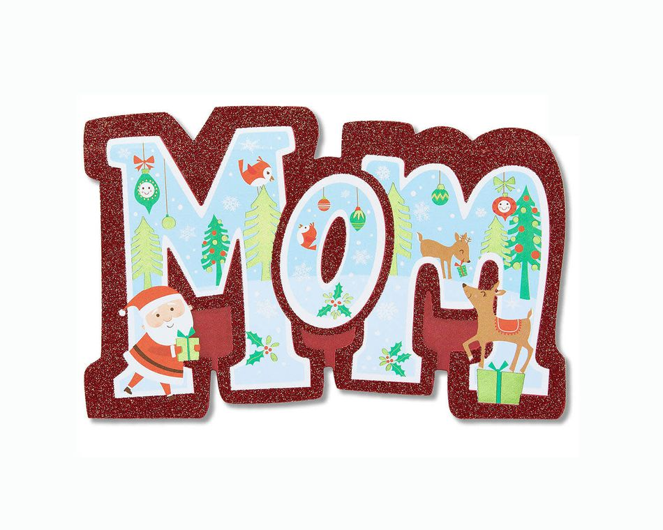Cool Mom Christmas Card for Mom
