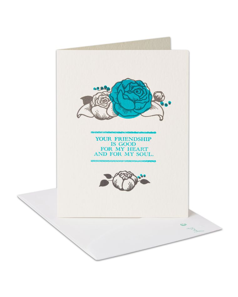 Heart and Soul Birthday Card