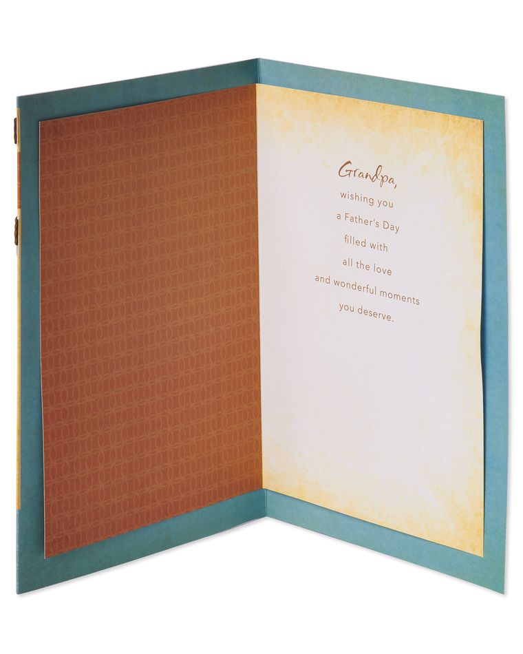 Wonderful Moments Father's Day Card for Grandpa