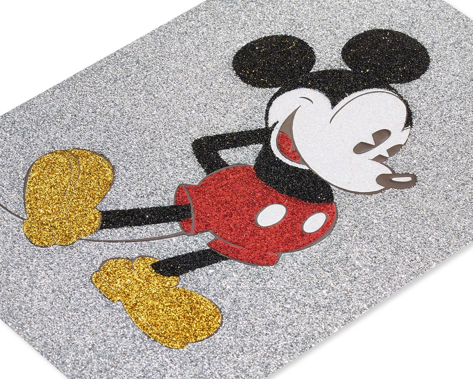 Mickey Mouse Blank Greeting Card