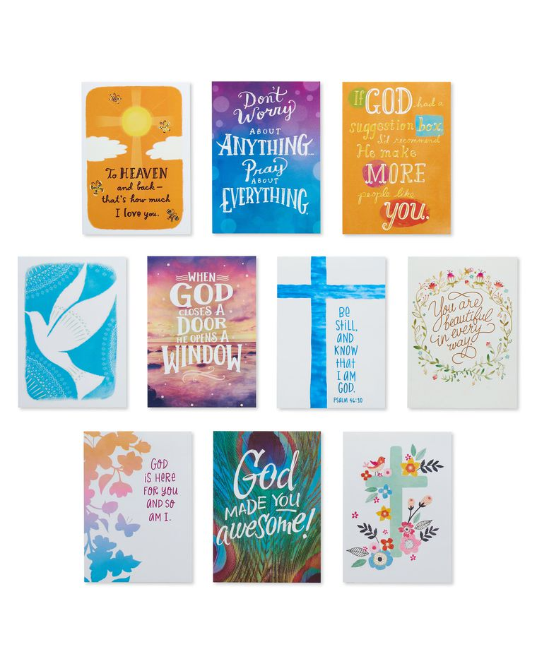 Faith and Joy Lunch Box Mini Notes, 40-Count