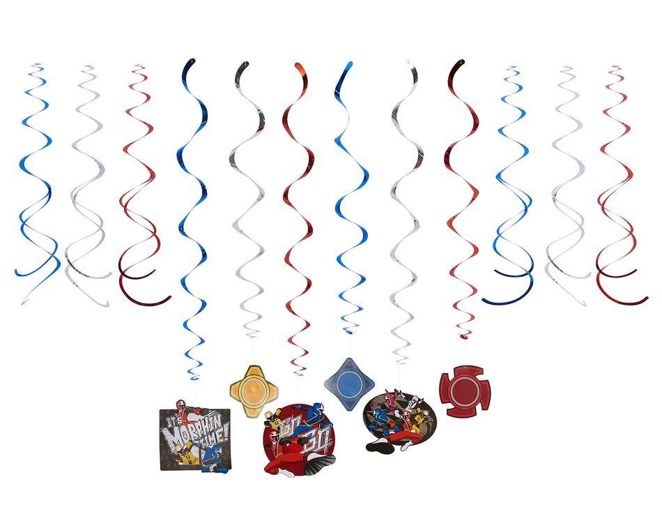 Power Rangers Ninja Steel Hanging Party Decorations