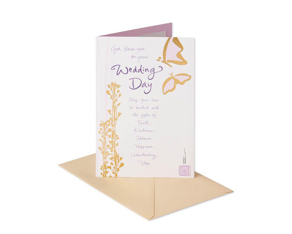 Butterflies Wedding Card