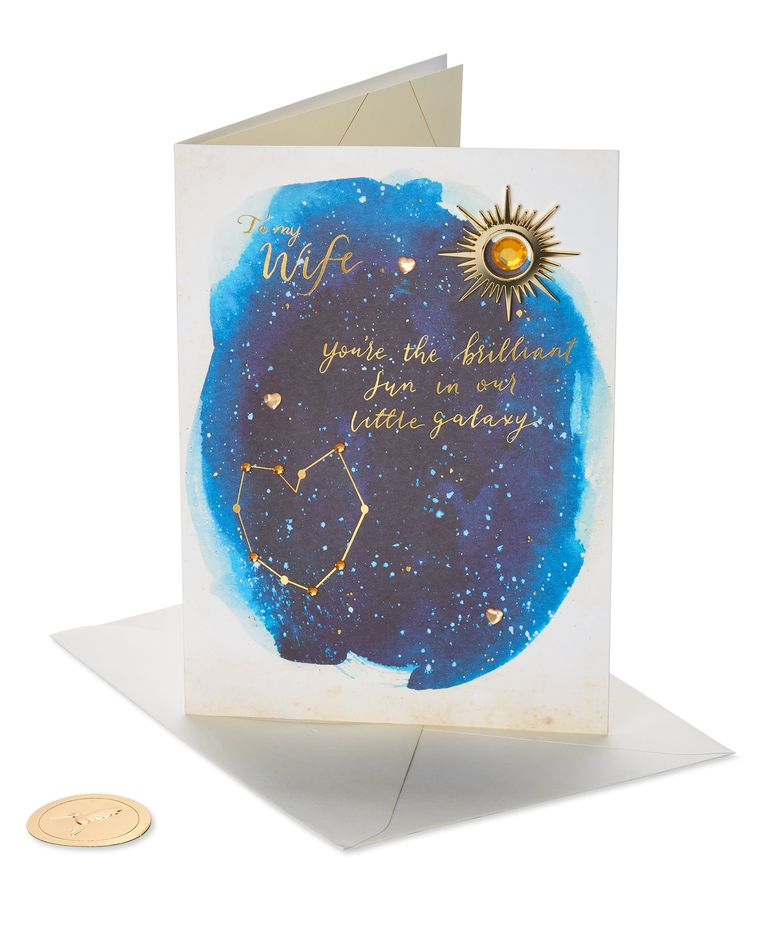 Our Little Galaxy Mother's Day Card for Wife