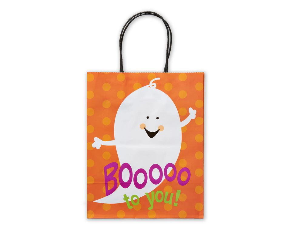 Small Halloween Gift Bag, Boo to You Ghost