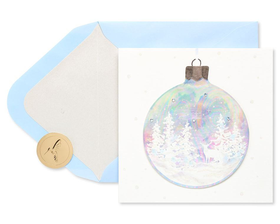 Ornament Christmas Greeting Card