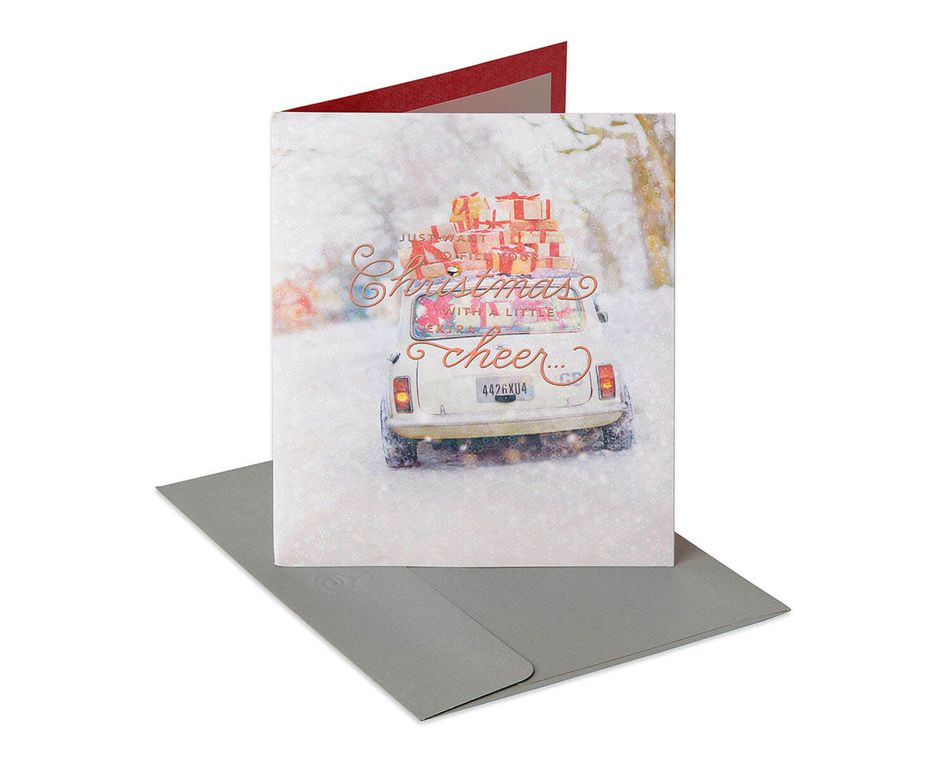 Christmas Cheer Christmas Gift Card Holder
