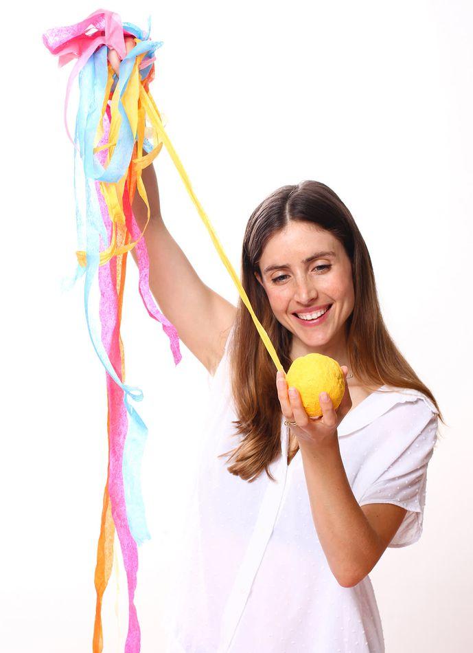 Mini Multicolor Surprize Balls, 4-Count