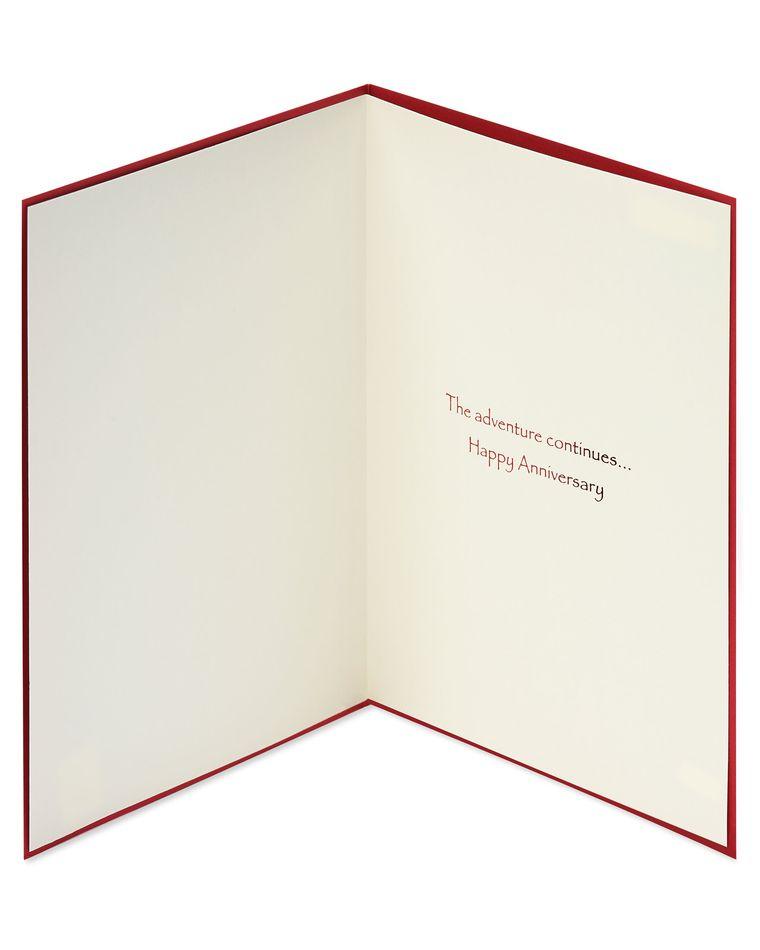 Sailboat Anniversary Greeting Card
