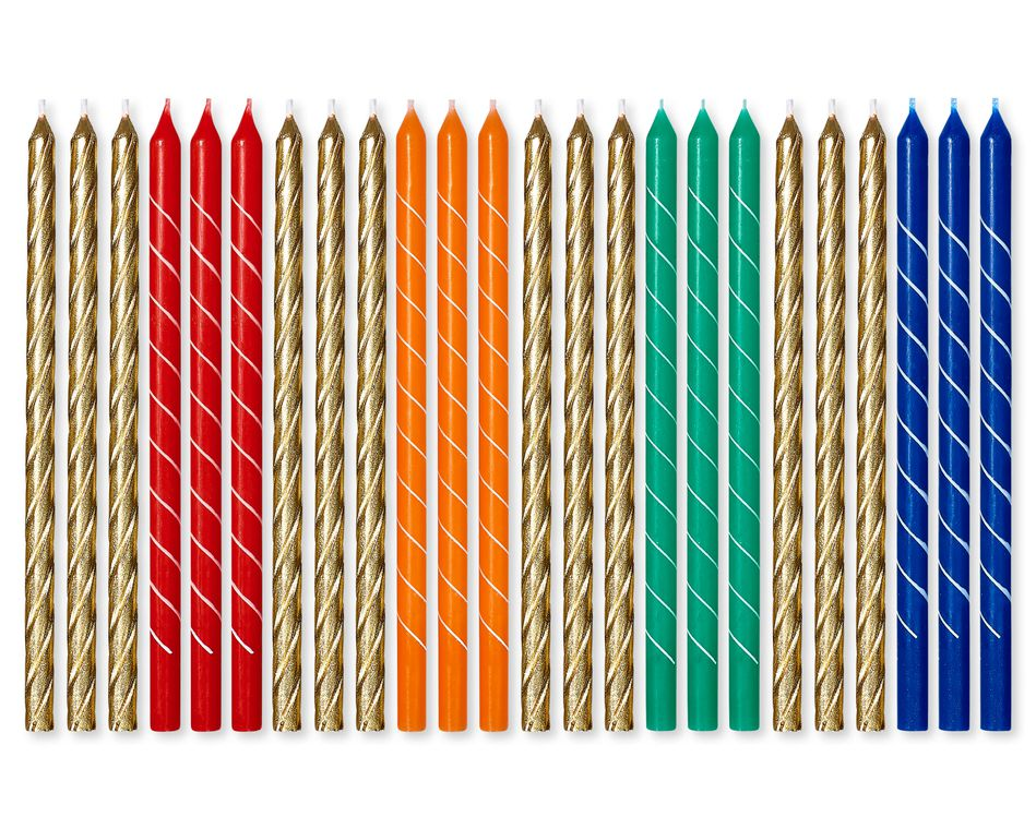 Birthday Candles, 24-Count