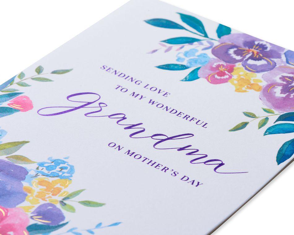 Sending Love Mother's Day Card for Grandma