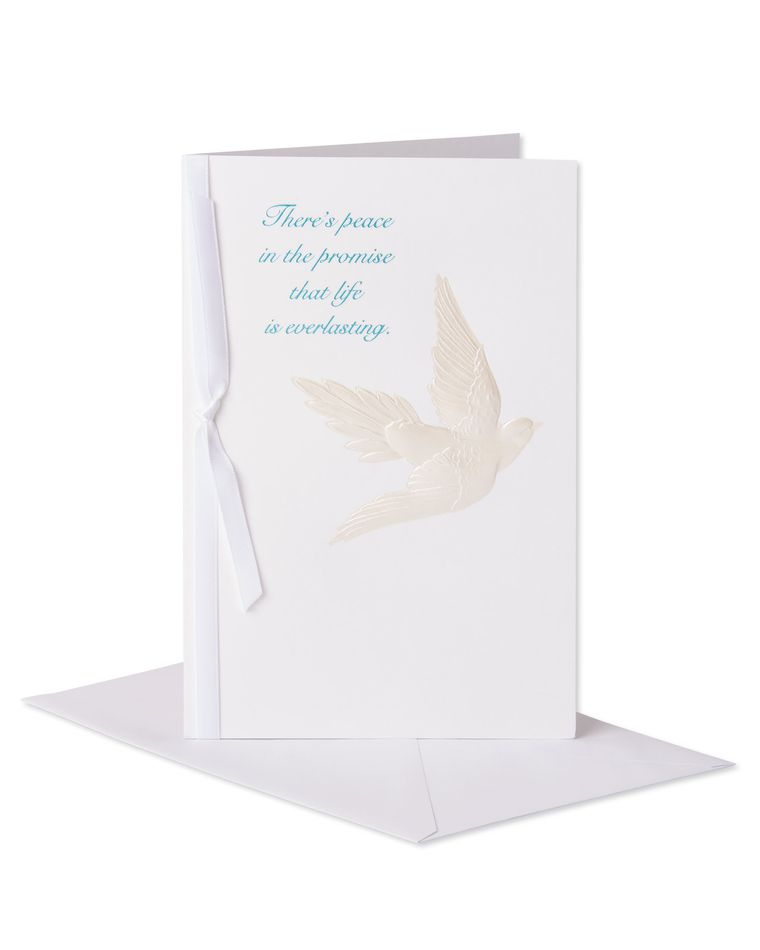 Religious Peace Sympathy Card