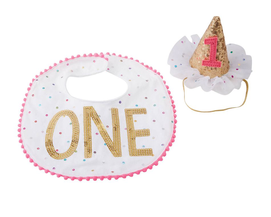 Mud Pie Baby Girl Smash Cake Set