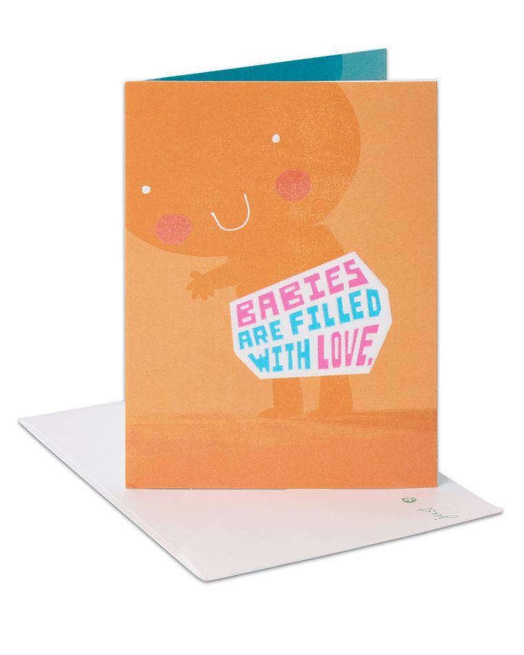 Poop New Baby Congratulations Card