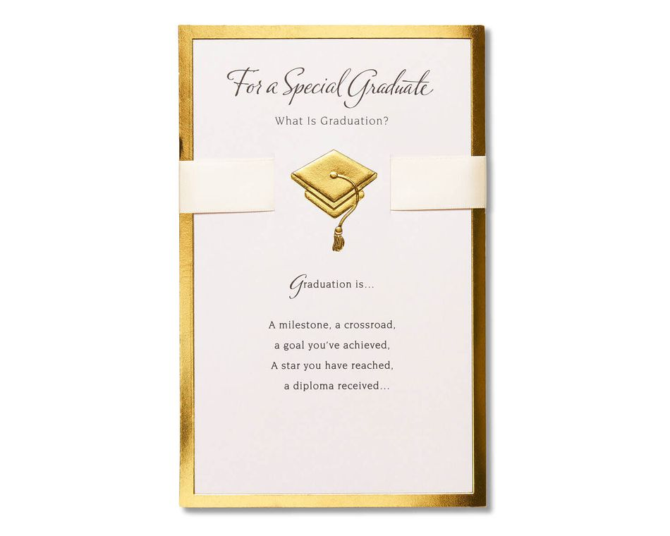 Special Graduate Graduation Card