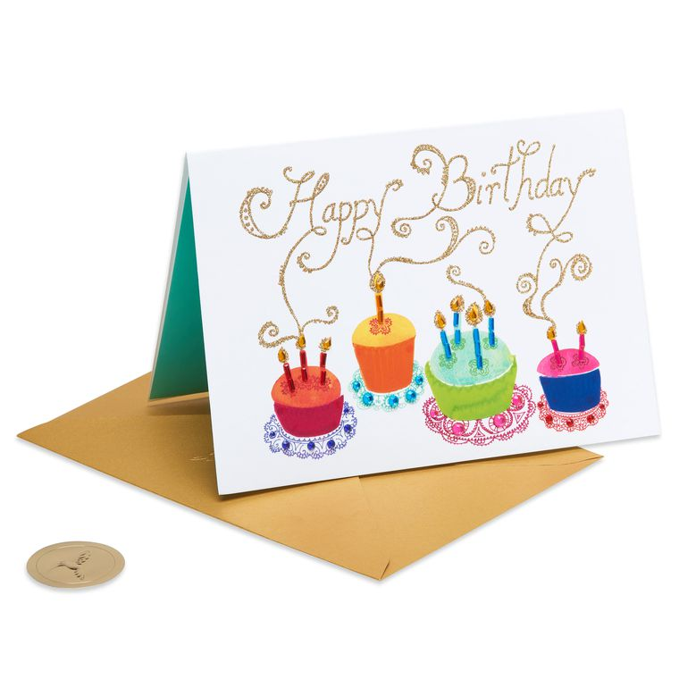 Cupcakes Birthday Greeting Card