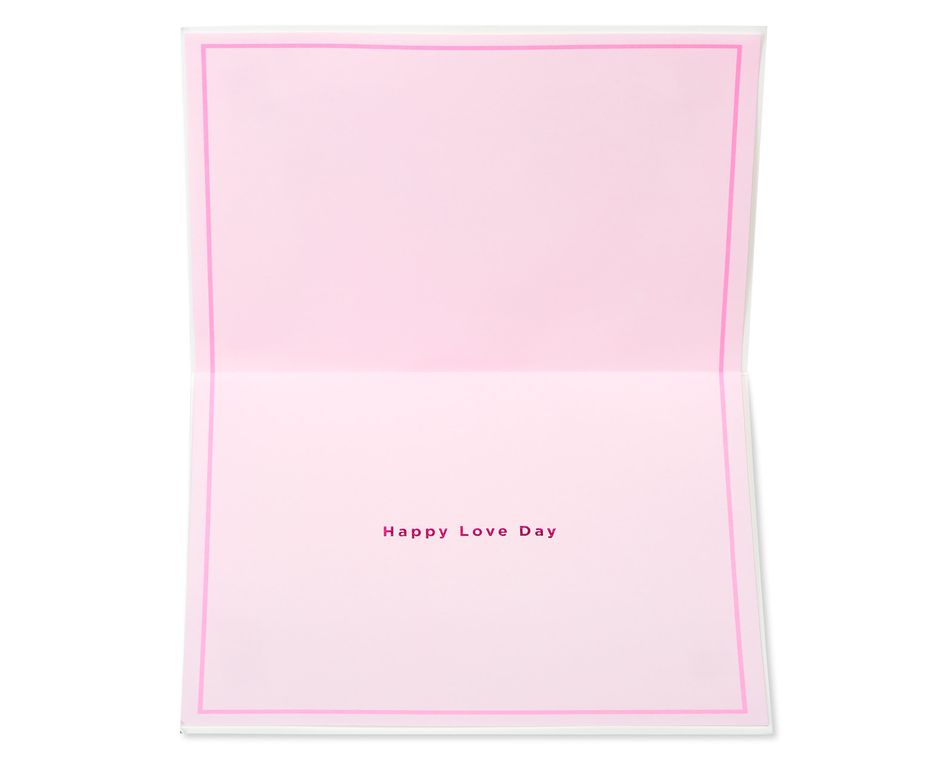 Happy Love Day Valentine's Day Greeting Card