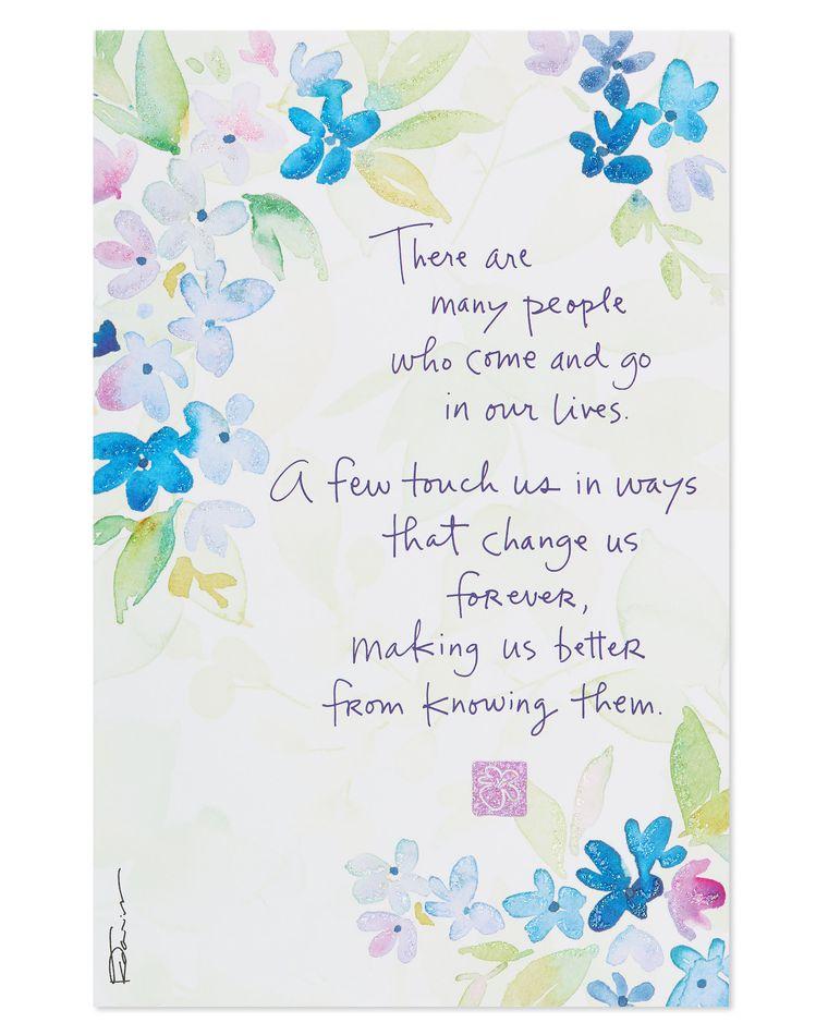 Kathy Davis Floral Thank You Card