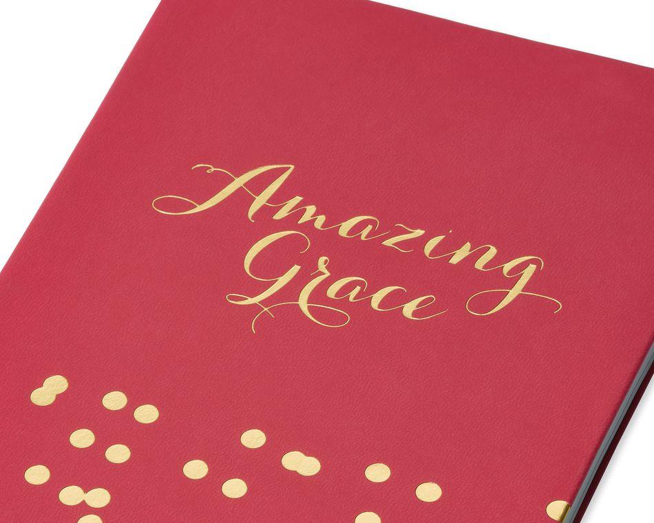 Eccolo  Amazing Grace Bible Journal