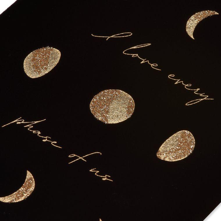 Moon Cycles Anniversary Greeting Card