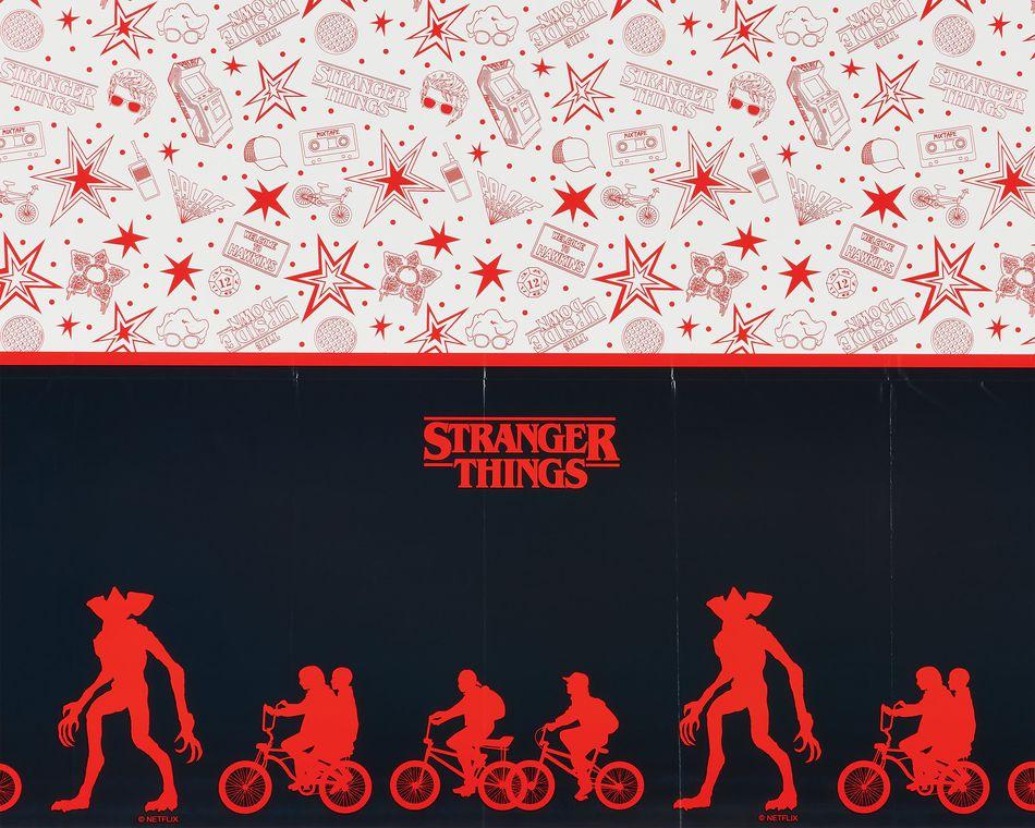 Stranger Things Plastic Table Cover, 54