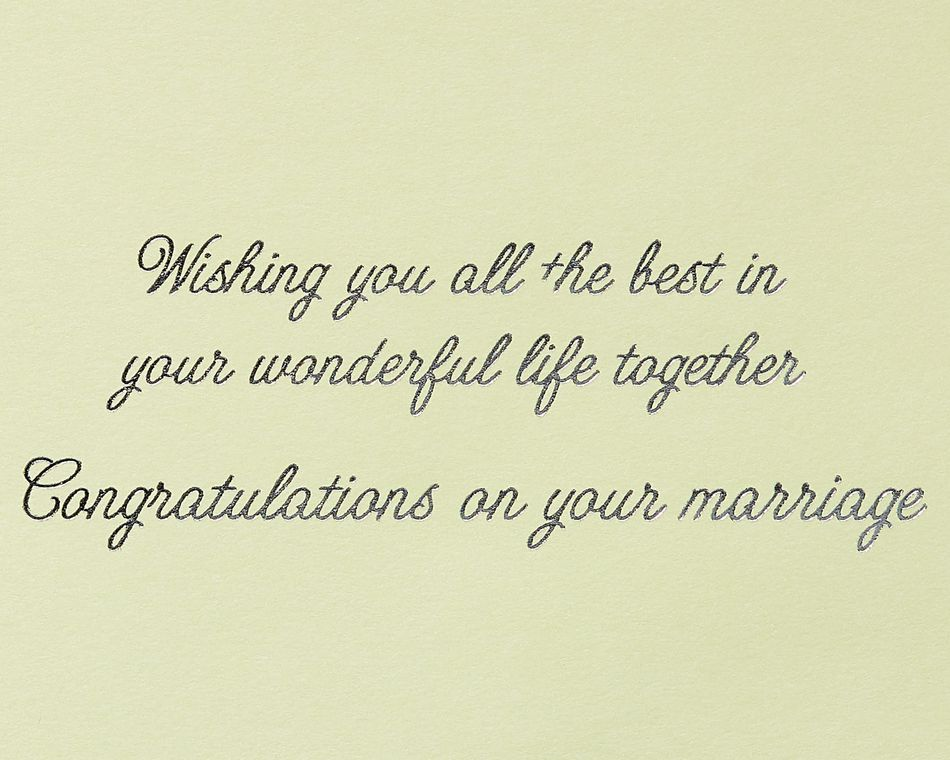 Mr. and Mrs. Wedding Greeting Card