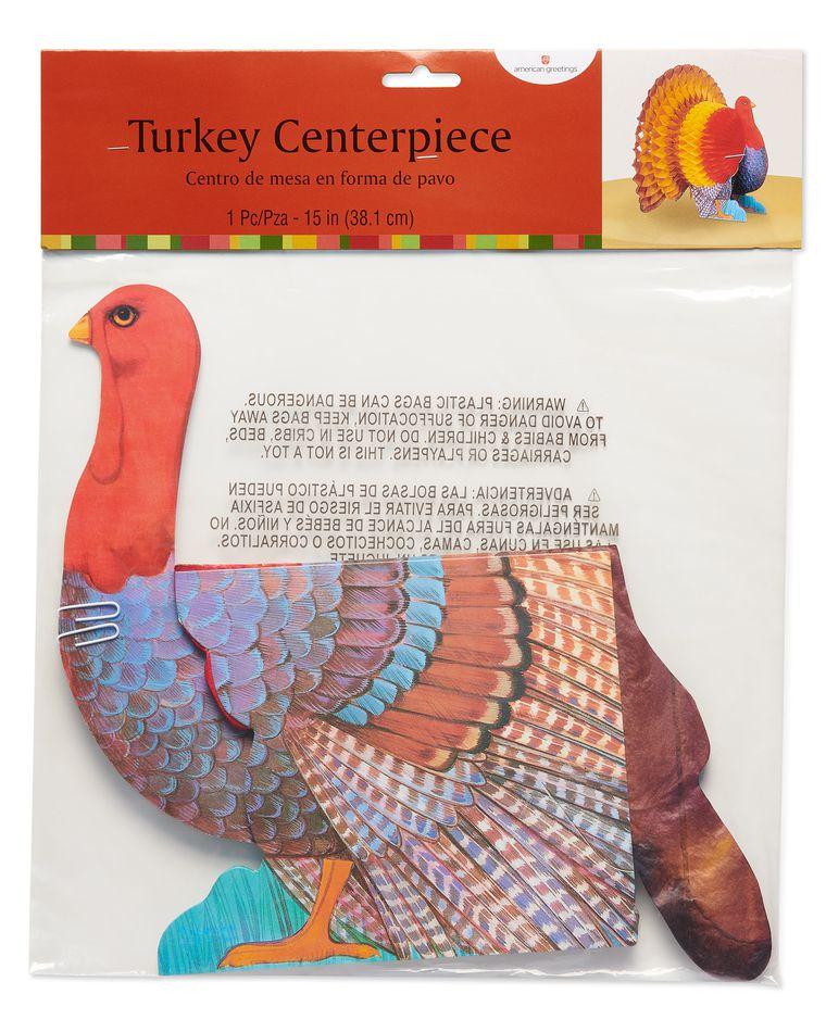 Honeycomb Turkey Centerpiece